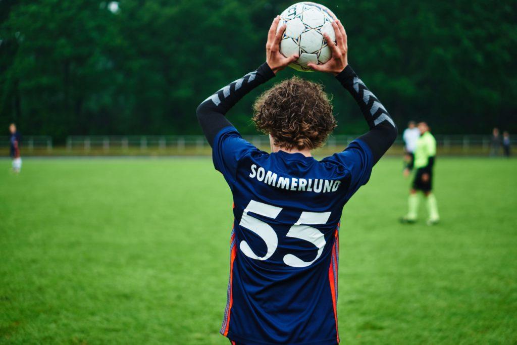 Fodbold på efterskolen VGIE - Drenge fodbold
