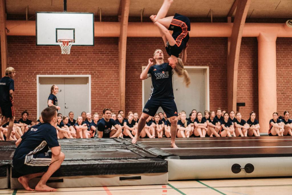 Gymnastikefterskole i Jylland-undervisning på VGIE