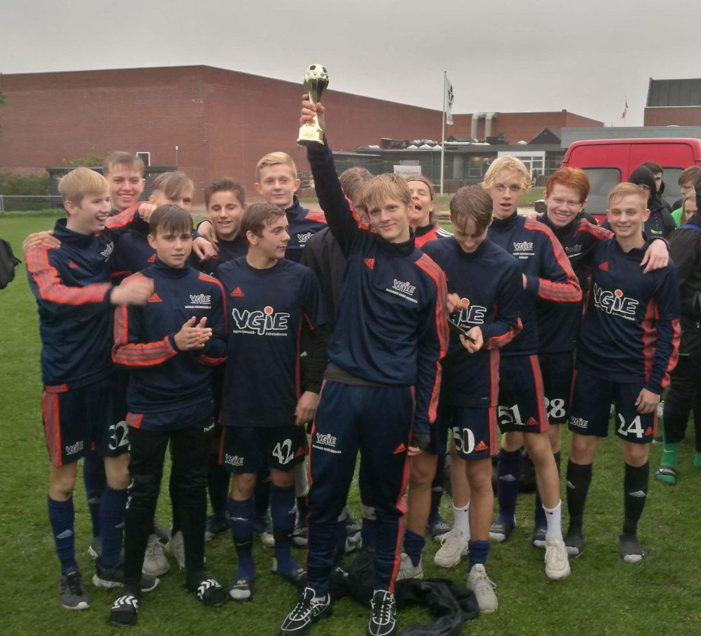Fodbold på efterskole - VGIEs drenge fodboldlinje