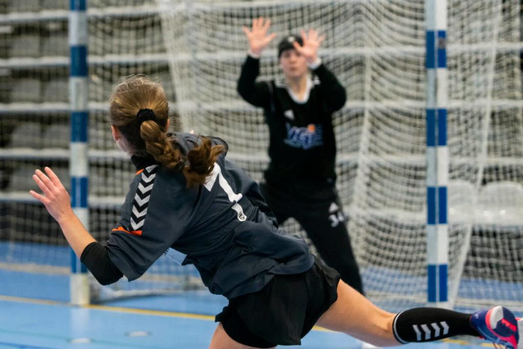 Håndbold efterskole i Jylland_håndboldkamp på VGIE